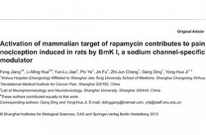 Activation of mammalian target of rapamycin contributes to pain